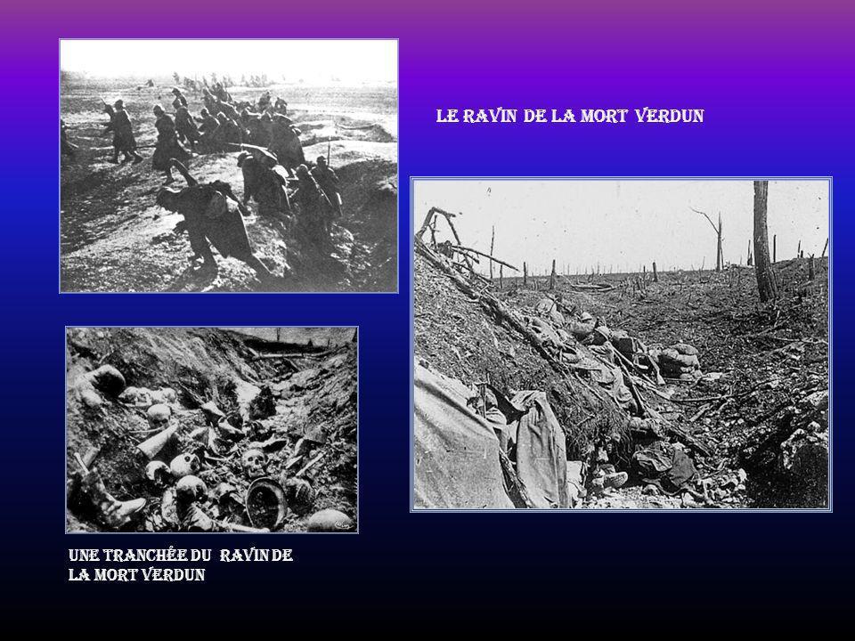 Fort de Douaumont lors de sa reprise en 1916 Soldats du régiment d'infanterie Coloniale du Maroc dans les fossés du fort de Douaumont reconquis Mitrai