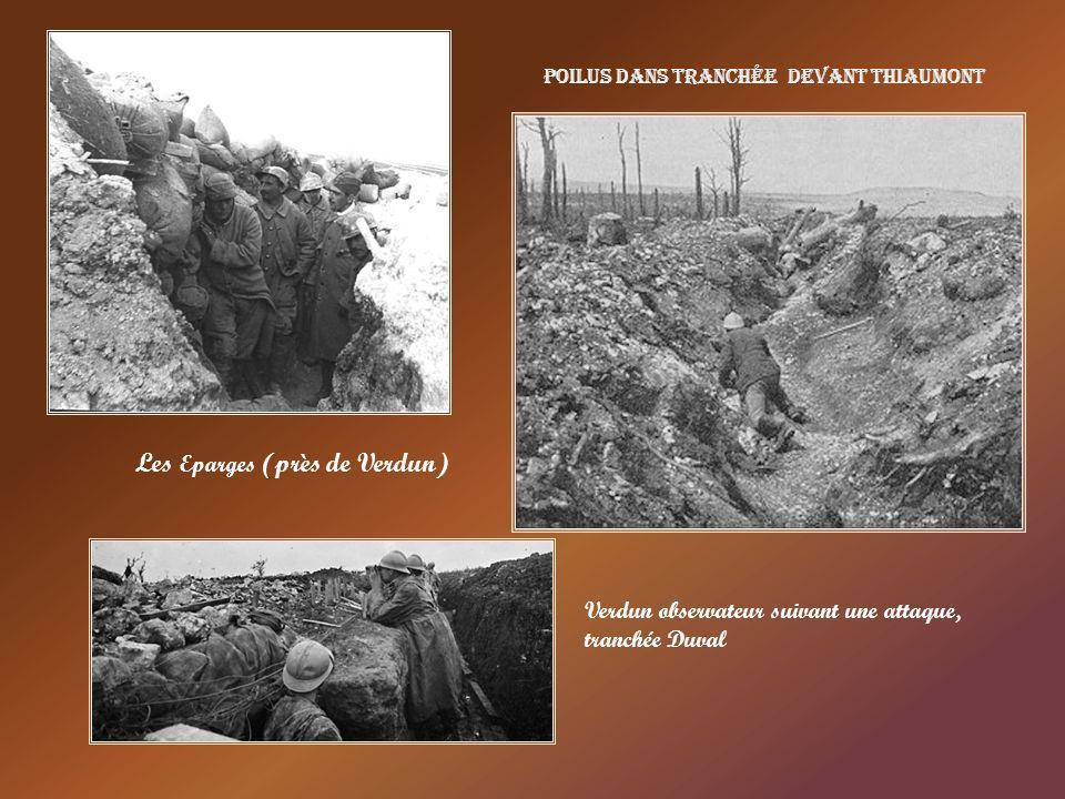 Le ravin de la mort Verdun Une tranchée du ravin de la mort Verdun