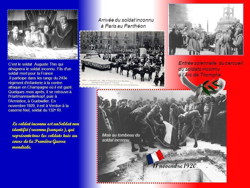Ami, souviens-toi toujours De Verdun et de notre sacrifice Notre vie pour ce bel et fragile édifice… « La liberte » La paix et la liberté ont un prix