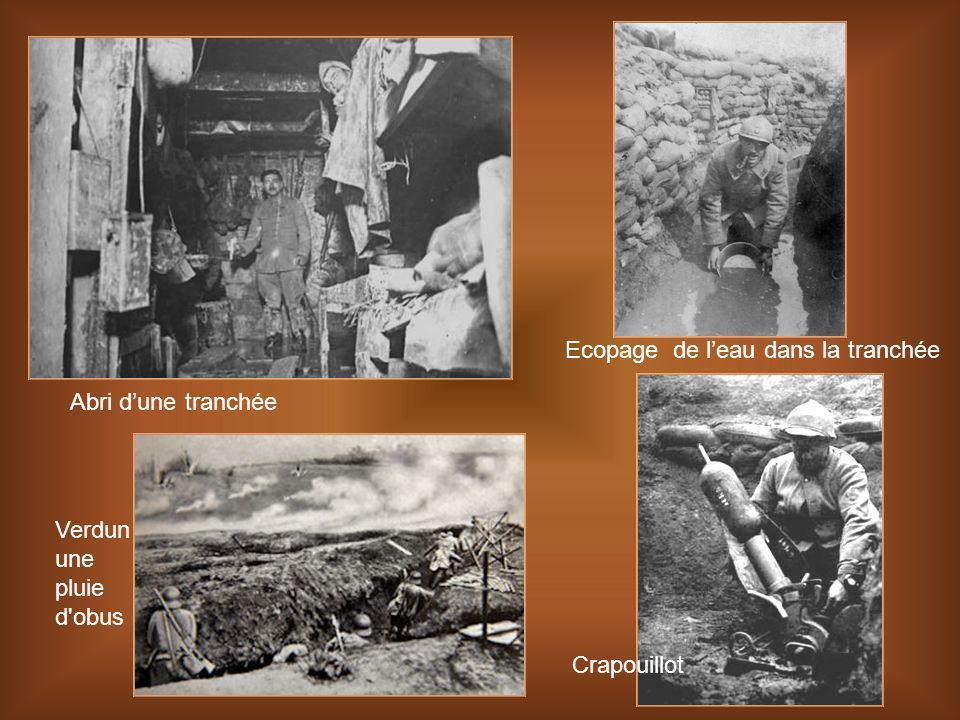 Bataille verdun en novembre 1916 bombardement dans le ravin de la mort avant la reconquête de Vaux Phrase lancée par le Général Nivelle lors de l'offe