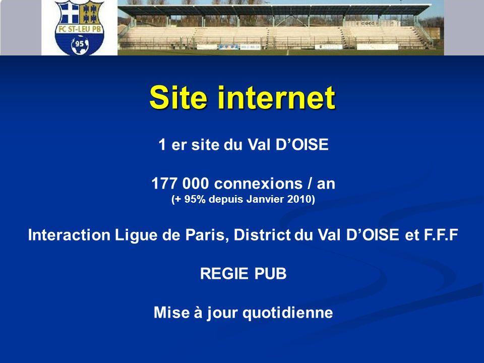 LE JOURNAL M ENSUEL LACTUALITE DU CLUB ET AUSSI VOTRE PUB Vue par les habitants de Saint Leu et du Plessis-Bouchard