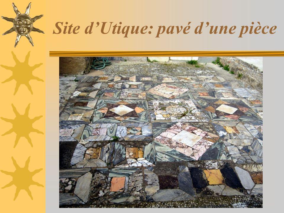 Site dUtique: pavé dune pièce