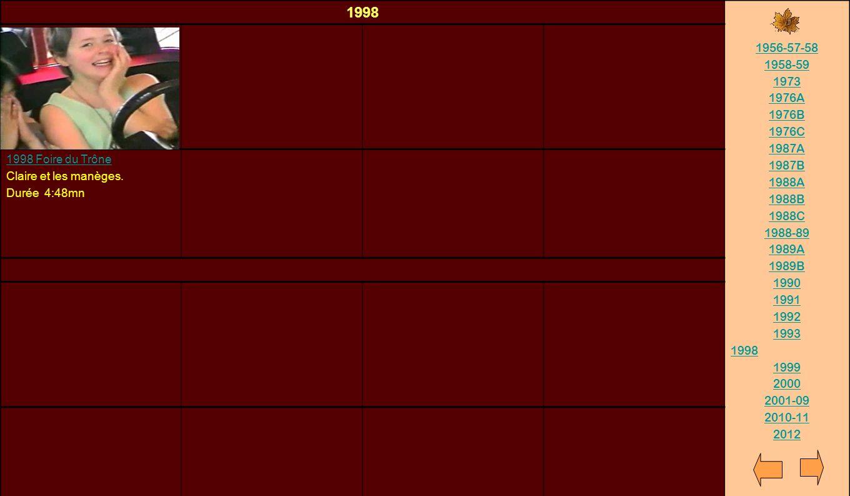 1998 1956-57-58 1958-59 1973 1976A 1976B 1976C 1987A 1987B 1988A 1988B 1988C 1988-89 1989A 1989B 1990 1991 1992 1993 1998 1999 2000 2001-09 2010-11 20
