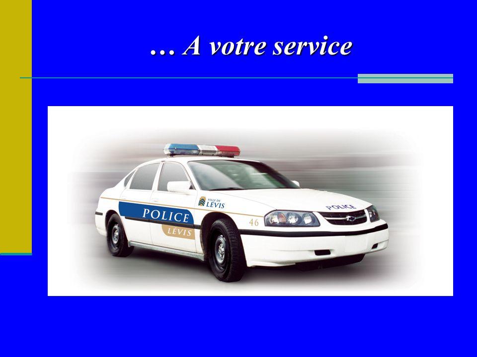 … A votre service