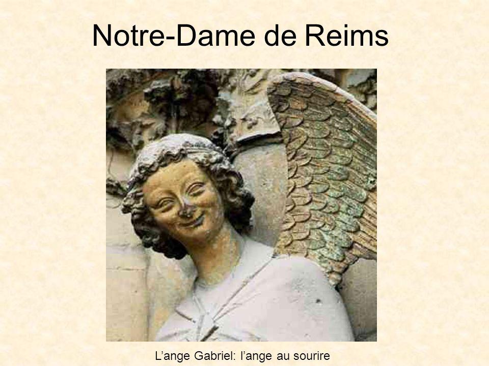 Notre-Dame de Reims Lange Gabriel: lange au sourire
