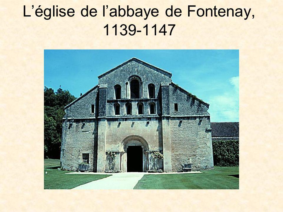 Léglise de labbaye de Fontenay, 1139-1147