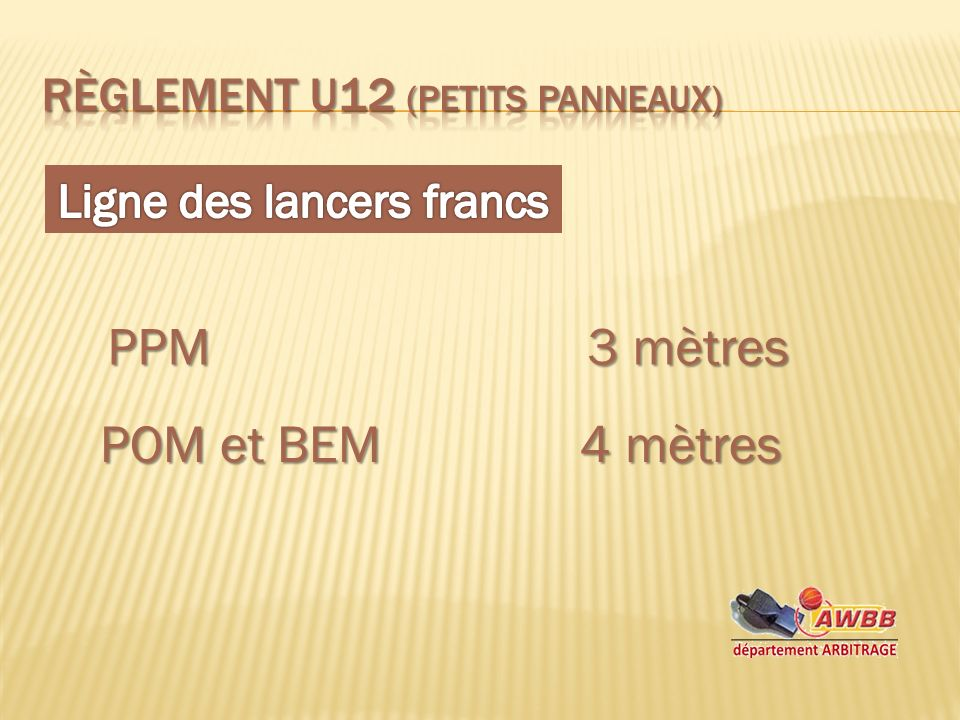 PPM3 mètres POM et BEM4 mètres