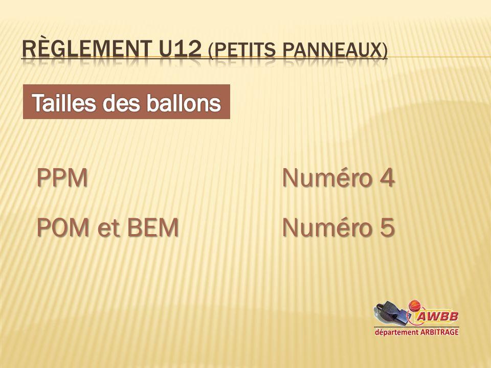 PPMNuméro 4 POM et BEMNuméro 5