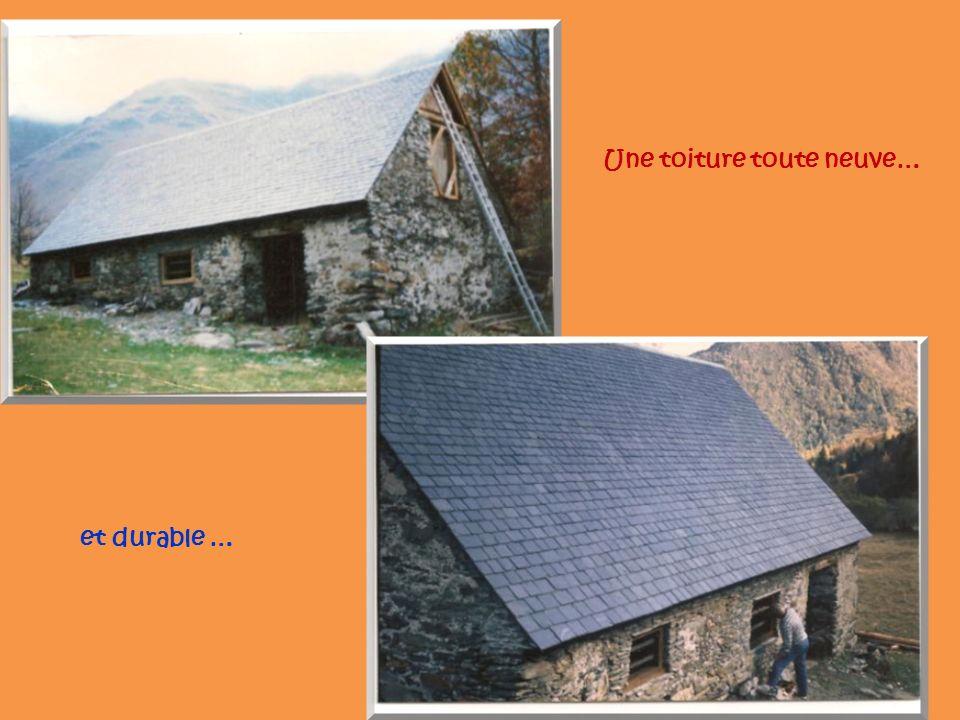Une toiture toute neuve… et durable …