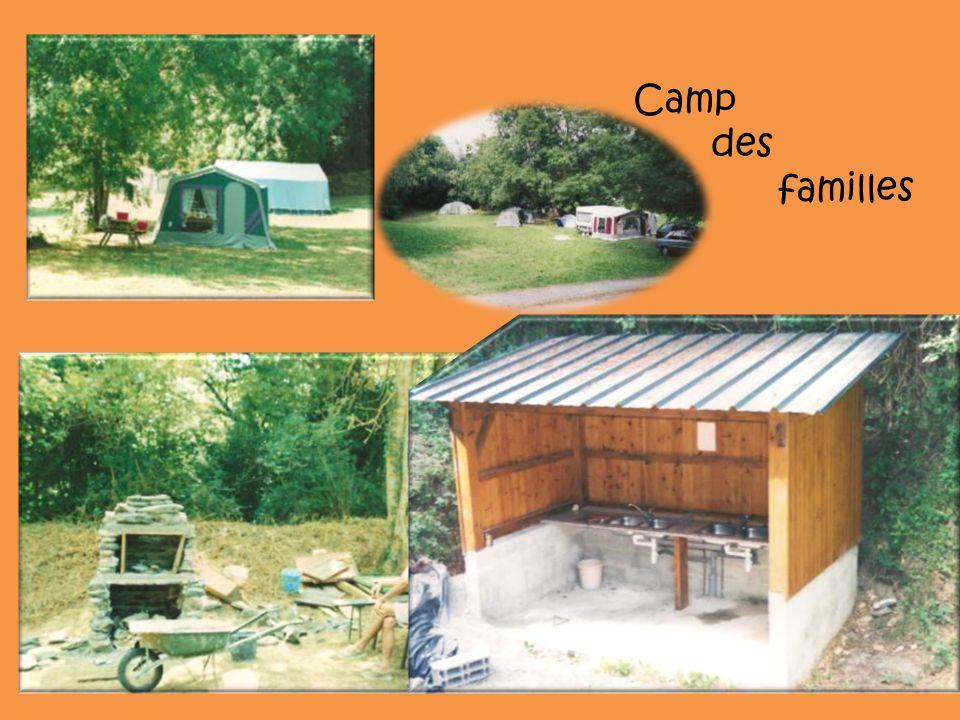 Camp des familles
