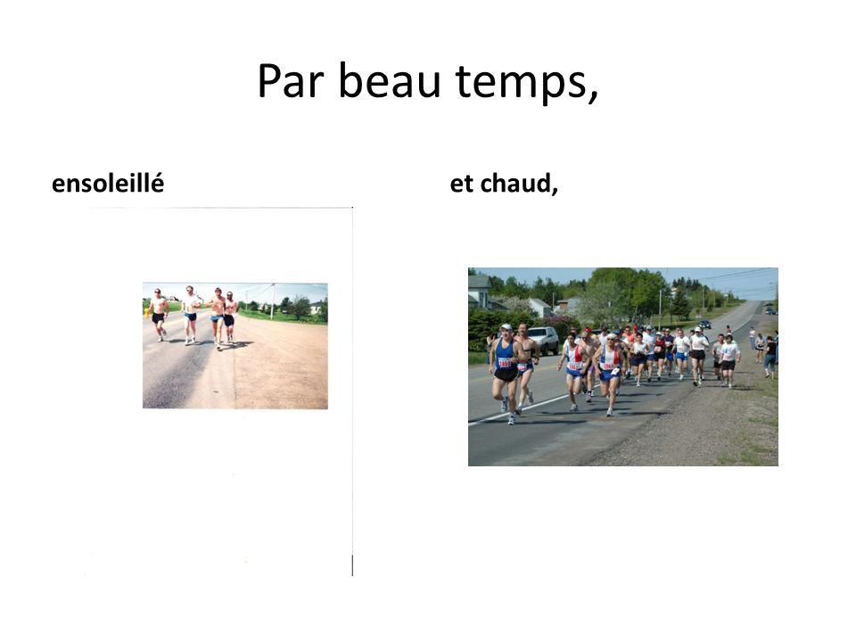 Deux facteurs sont déterminants dans la longévité du Demi-marathon de lAcadie: Jean-Marie et Marcelle Breau!