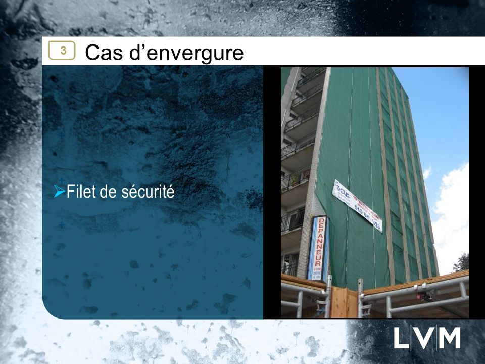 Cas denvergure Filet de sécurité Insert photo 3