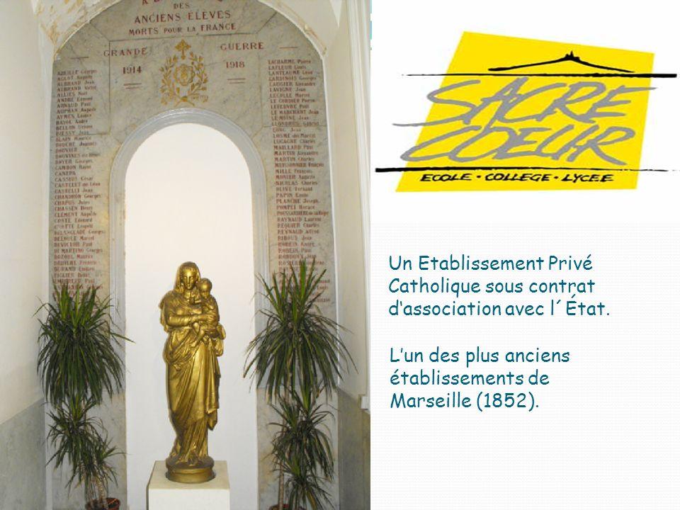 Un Etablissement Privé Catholique sous contrat dassociation avec l´État.