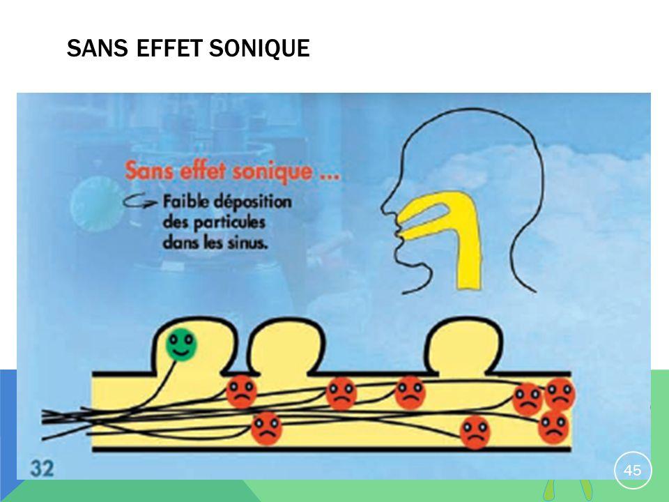 SANS EFFET SONIQUE 45