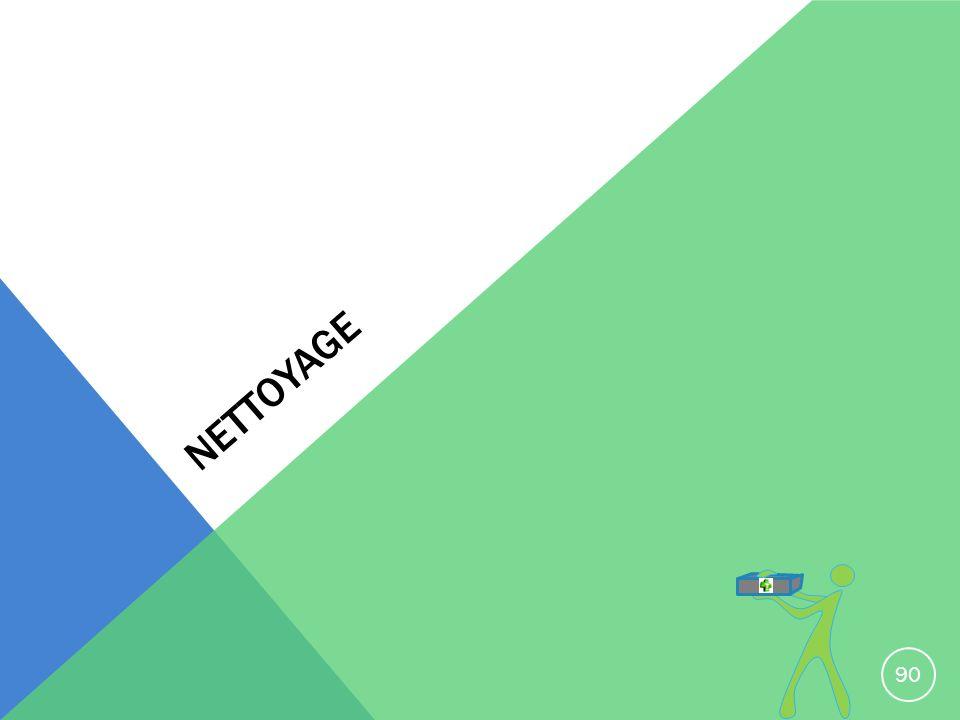 NETTOYAGE 90