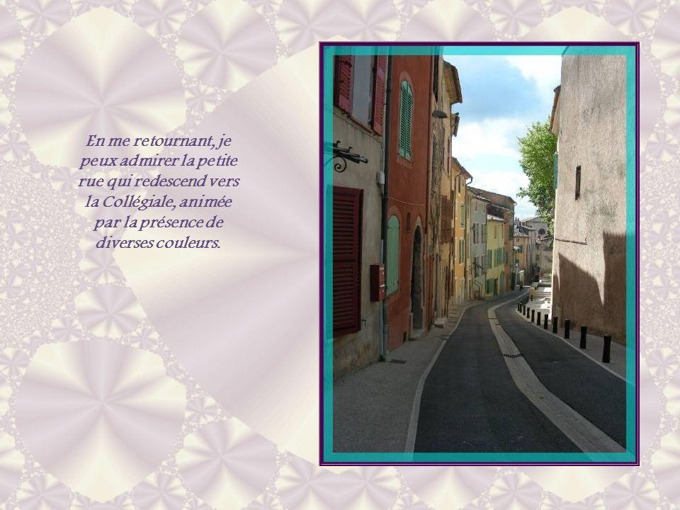 A lintérieur, les 40 stalles de la confrérie sont encore visibles. A droite, ce tableau du XVIIIe siècle représente Saint Donnat que lon invoquait pou