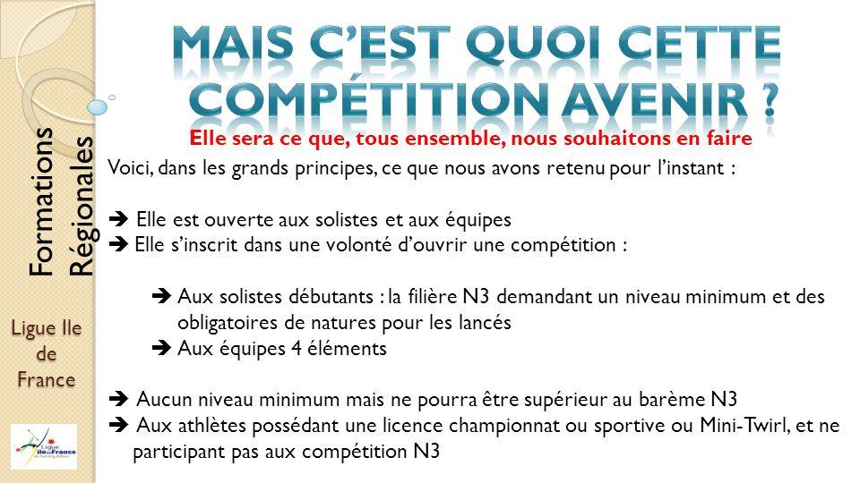 Ligue Ile de France Elle sera ce que, tous ensemble, nous souhaitons en faire Voici, dans les grands principes, ce que nous avons retenu pour linstant