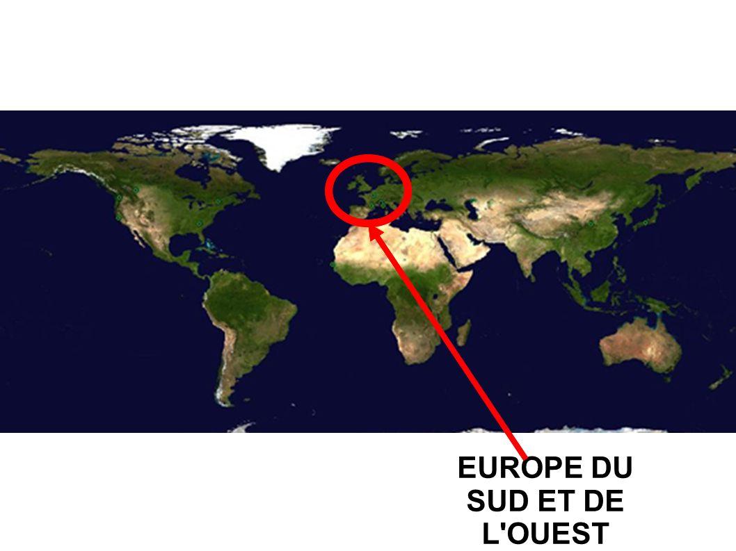 EUROPE DU SUD ET DE L'OUEST