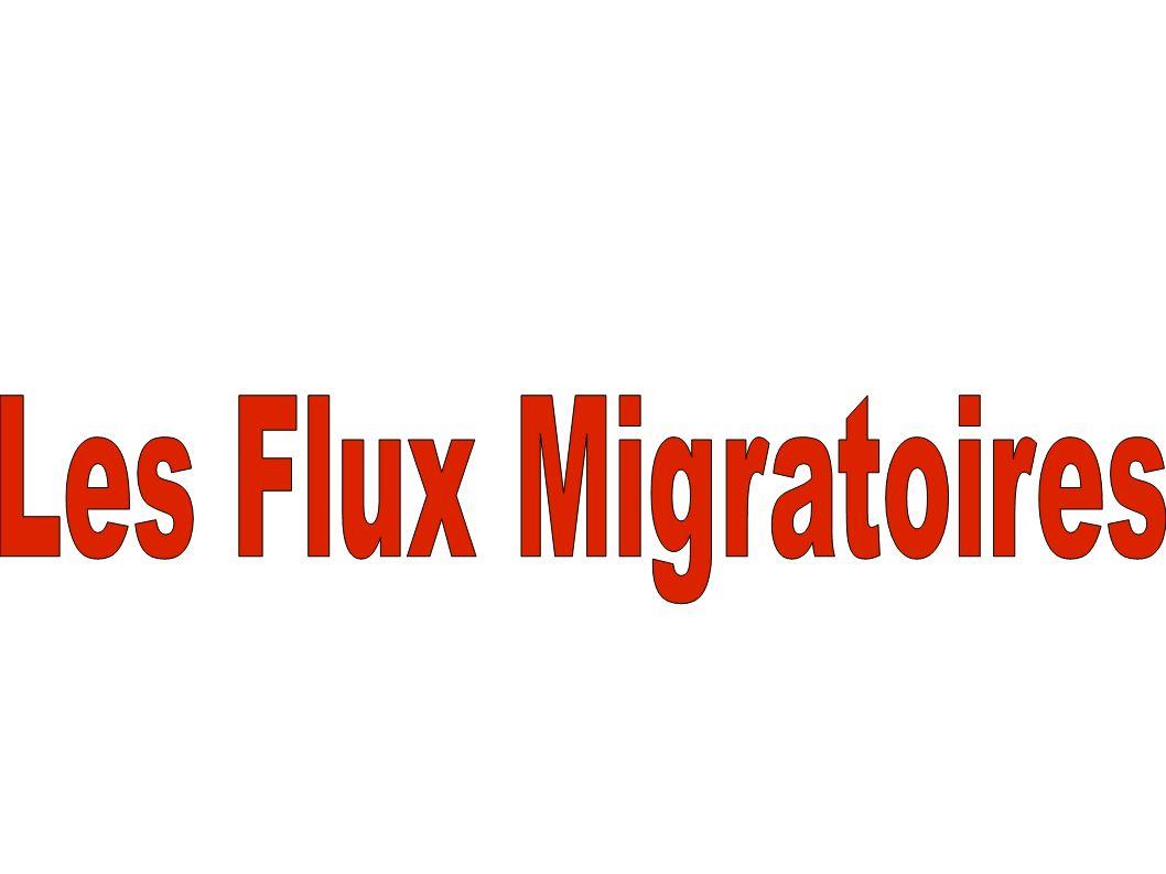 Il y a d abord les migrations des pays pauvres vers les pays riches Puis, il y a des migrations tourisiques Et enfin des migrations pour cause de travail Compliqué!