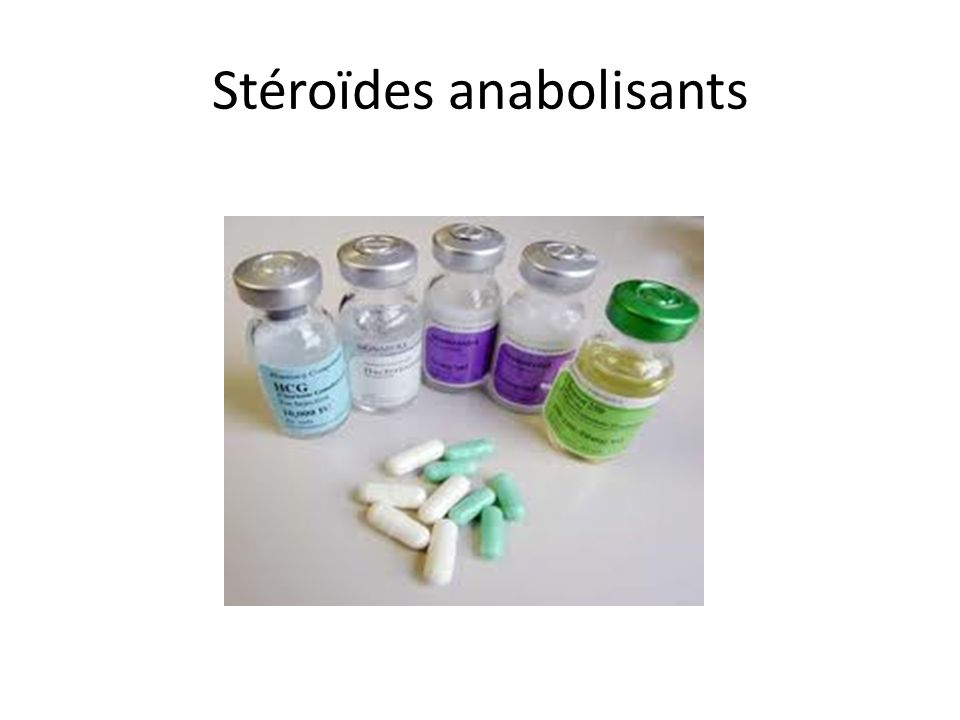 Stéroïdes anabolisants