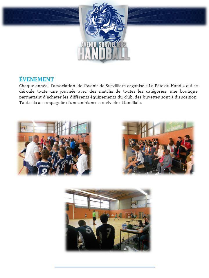 ÉVENEMENT Chaque année, lassociation de lAvenir de Survilliers organise « La Fête du Hand » qui se déroule toute une journée avec des matchs de toutes