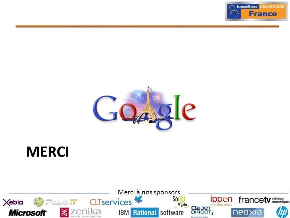 Merci à nos sponsors MERCI