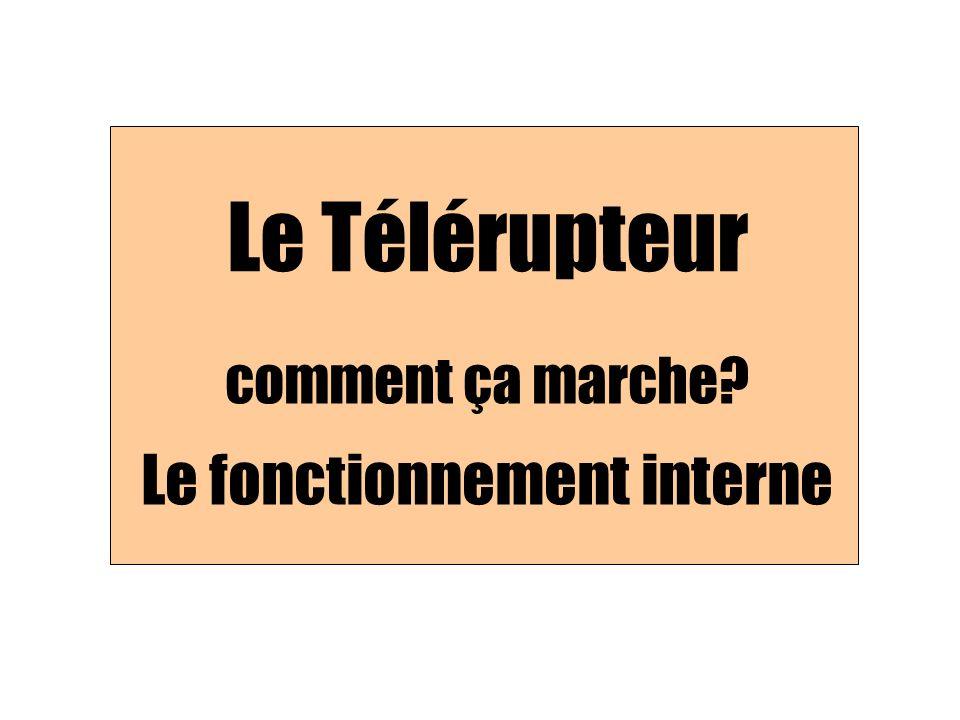 Sur un support, on enroule un conducteur isolé Le Télérupteur: comment ça marche.