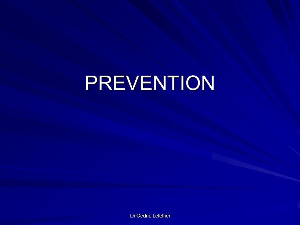 Dr Cédric Letellier PREVENTION