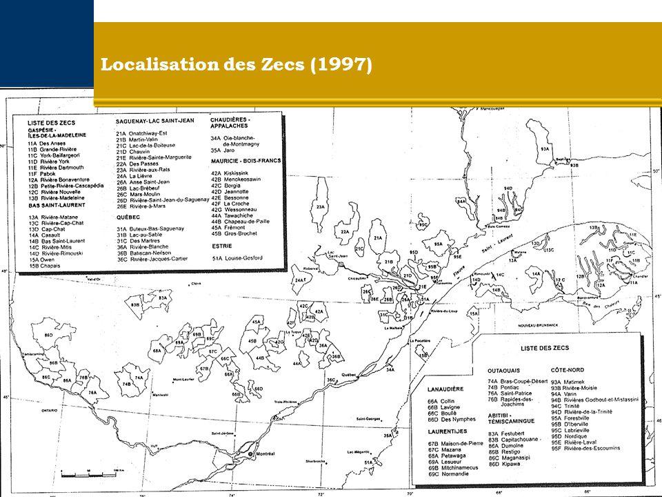 Localisation des Zecs (1997)