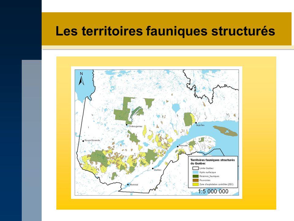 Les territoires fauniques structurés