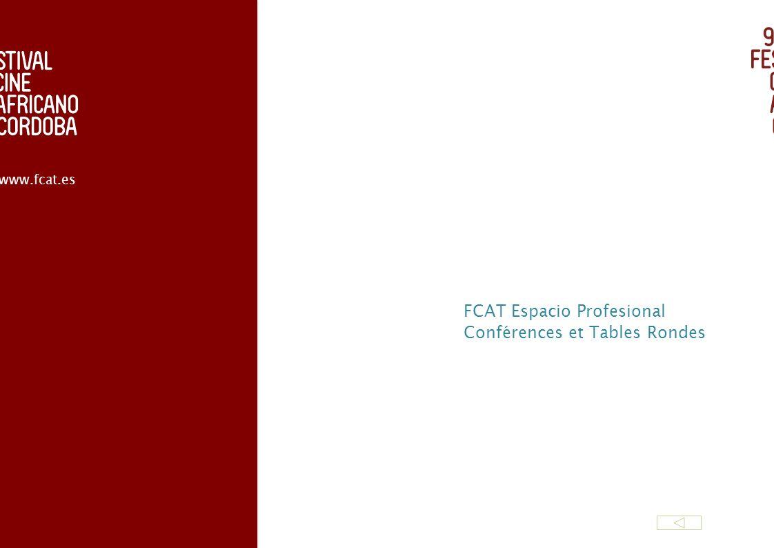 FCAT Espacio Profesional Conférences et Tables Rondes www.fcat.es