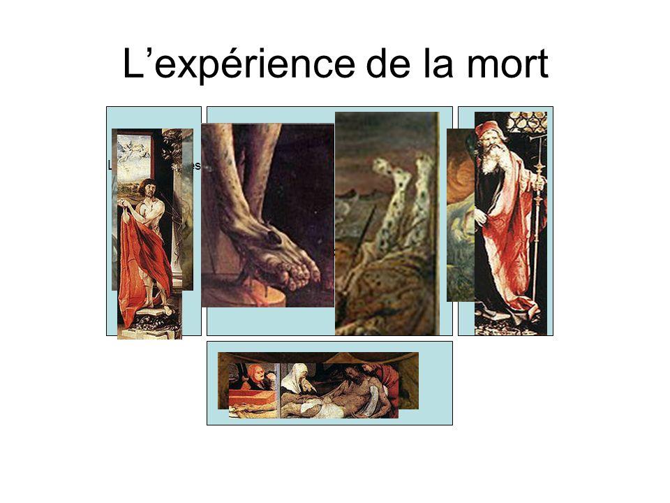 Le départ au Front = Les condamnés Le condamné Le sauveur Le salut La mise à mort Déchéance des corps La crucifixion La mort Lexpérience de la mort