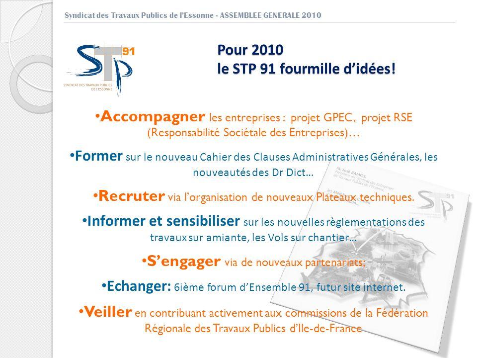 Accompagner les entreprises : projet GPEC, projet RSE (Responsabilité Sociétale des Entreprises)… Former sur le nouveau Cahier des Clauses Administrat