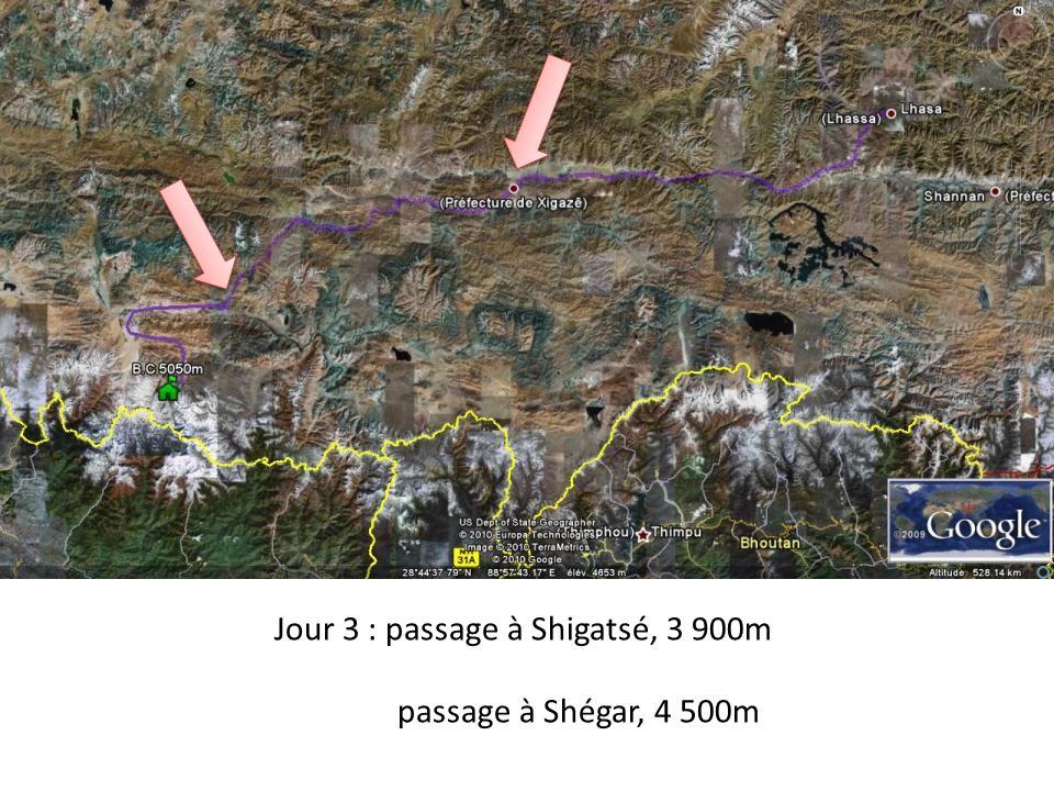 LEverest en 30 jours ; face Nord par le Tibet Jour 1 : arrivée à Lhassa, 3 800m