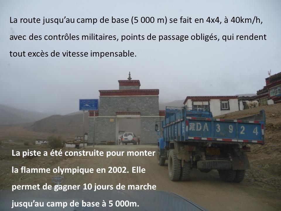 Jour 3 : passage à Shigatsé, 3 900m passage à Shégar, 4 500m