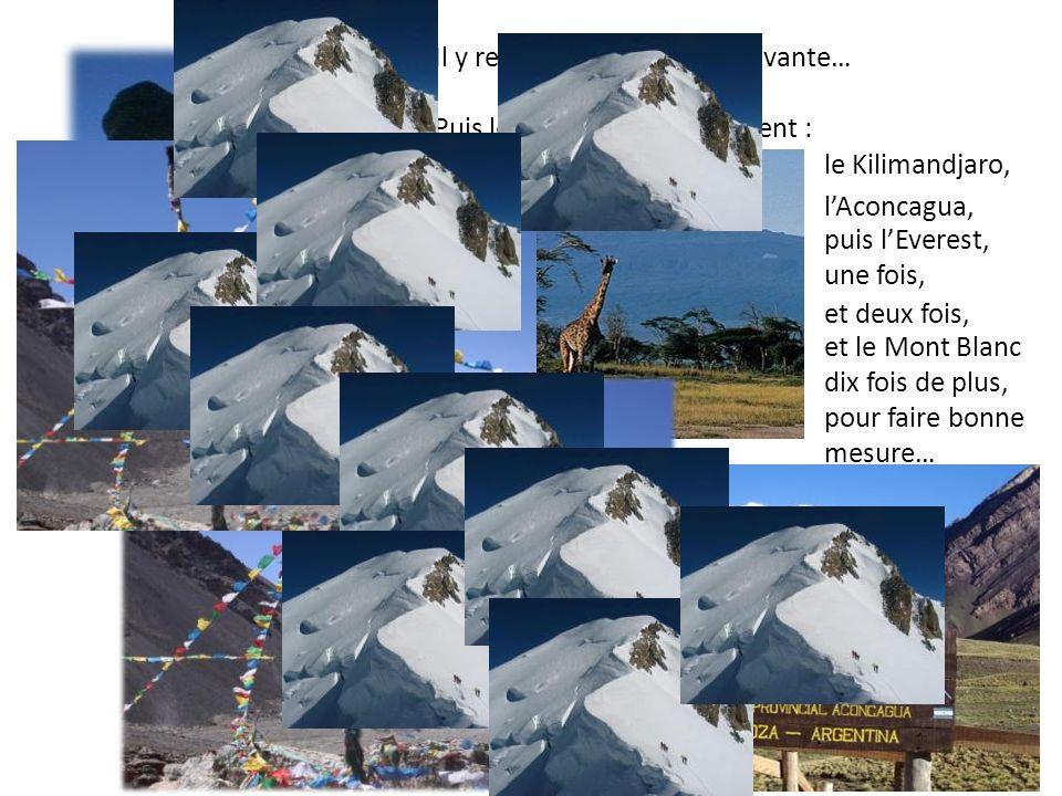 La montagne arrive dans la vie de Claude par accident : un affût au loup dans le Mercantour se transforme par hasard en ascension du Mont Blanc.