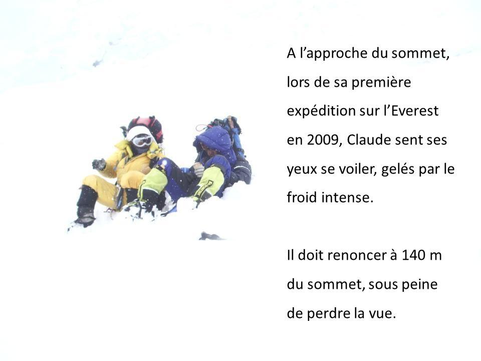 Il y retourne dès lannée suivante… Puis les sommets senchaînent : le Kilimandjaro, lAconcagua, puis lEverest, une fois, et deux fois, et le Mont Blanc dix fois de plus, pour faire bonne mesure…
