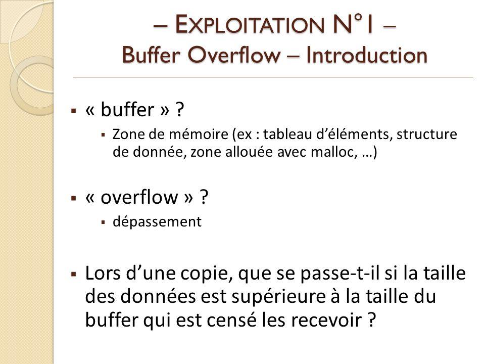 « buffer » .