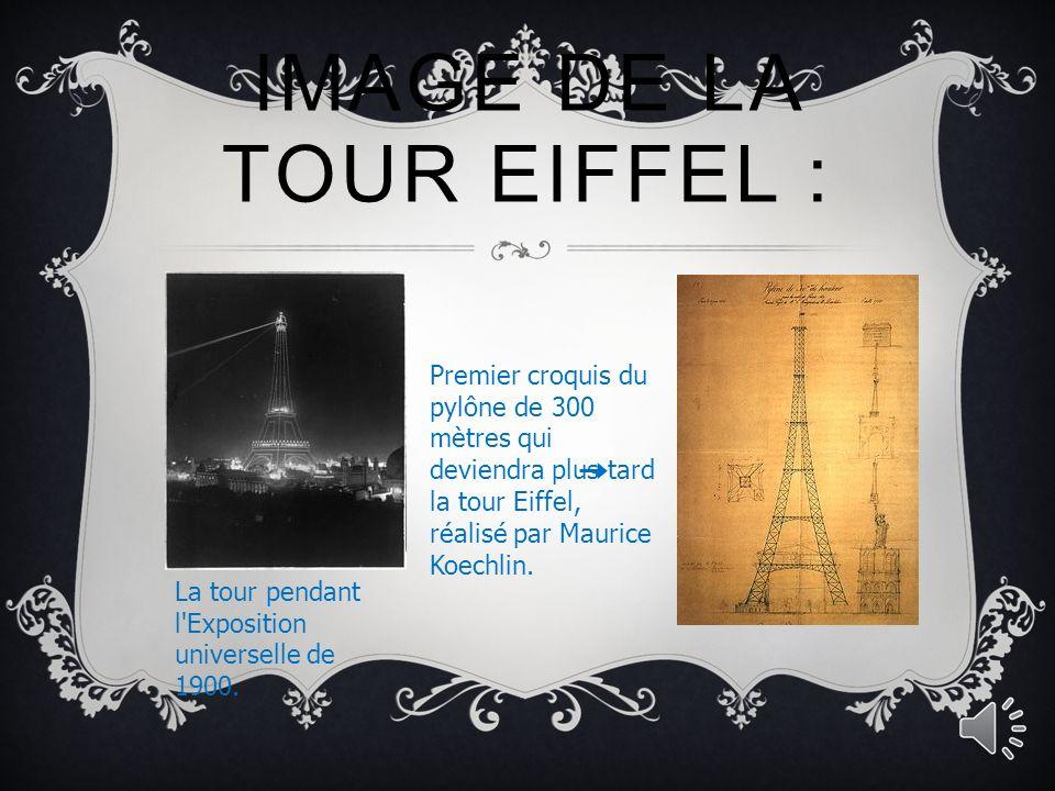 IMAGE DE LA TOUR EIFFEL : Vue aérienne de l Exposition universelle de Paris de 1889 à l occasion de laquelle la tour Eiffel fut construite.