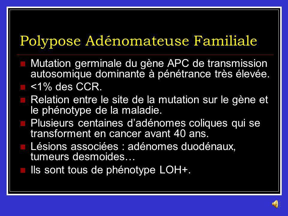 Les syndromes de Prédisposition Génétique Polypose Adénomateuse Familiale (PAF) Syndrome HNPCC