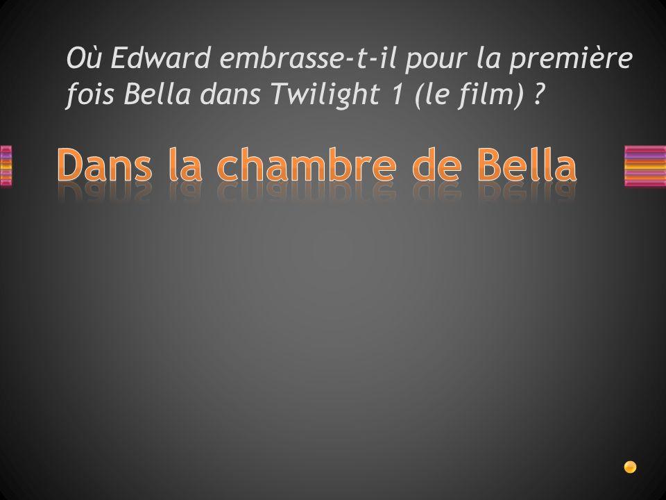 Quelle chanson passe lors du baiser de Bella et Edward à leur mariage