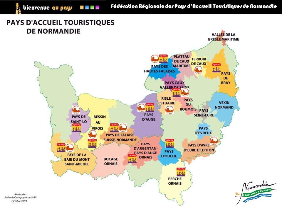 Fédération Régionale des Pays dAccueil Touristiques de Normandie AMELIORER LA QUALITE AU NIVEAU REGIONAL Intégrer NQT dans la commission de labellisation, demande émanant de restaurateurs labellisés « Assiette de Pays ».