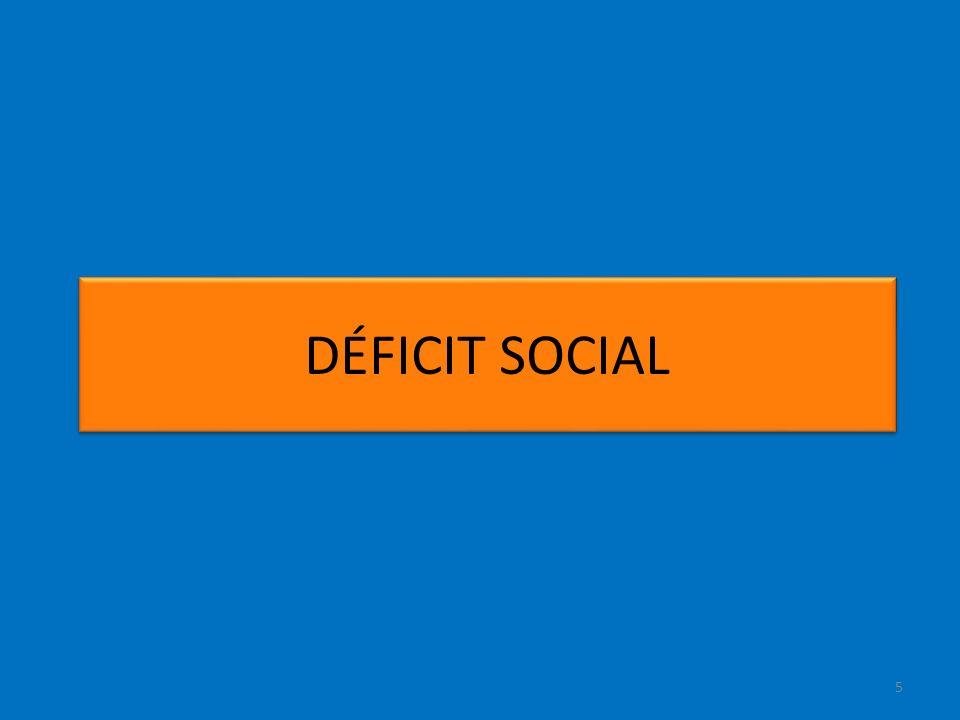 5 DÉFICIT SOCIAL