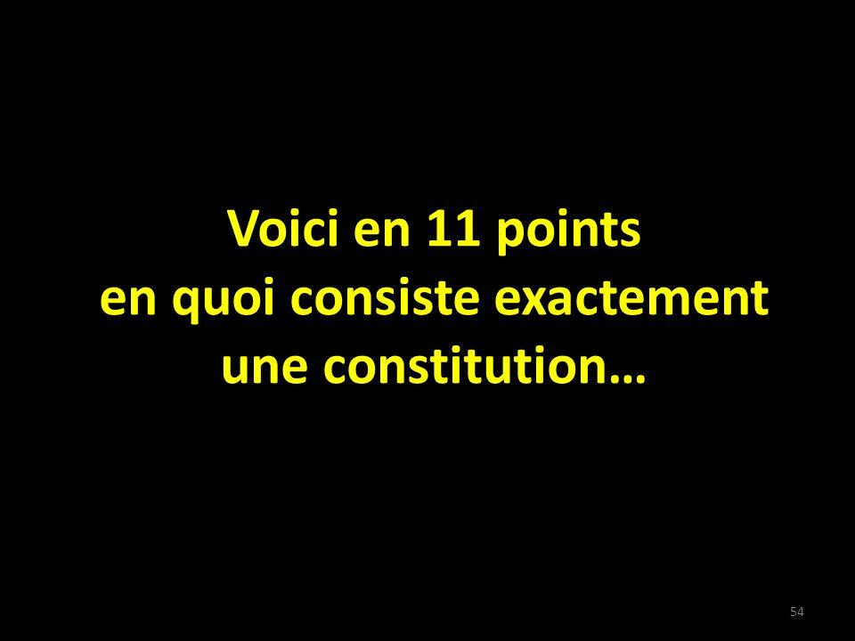 55 DÉFINITION DUNE CONSTITUTION