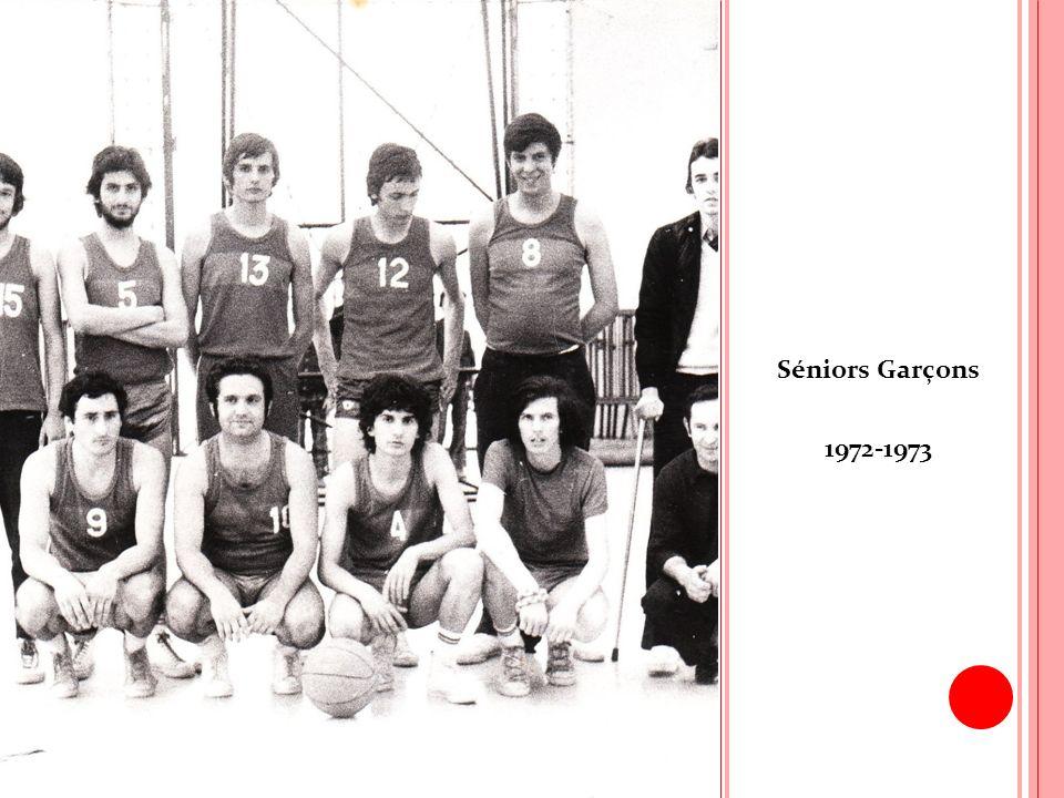 Séniors Garçons 1972-1973