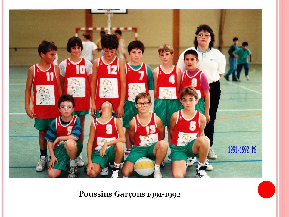 Poussins Garçons 1991-1992