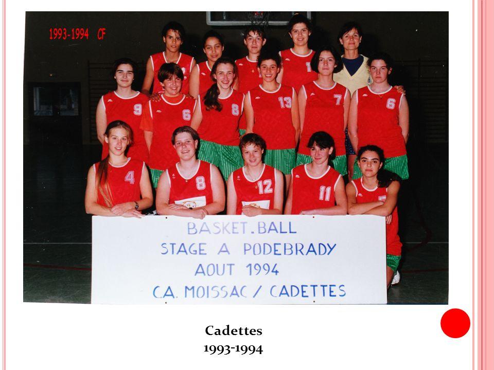 Cadettes 1993-1994