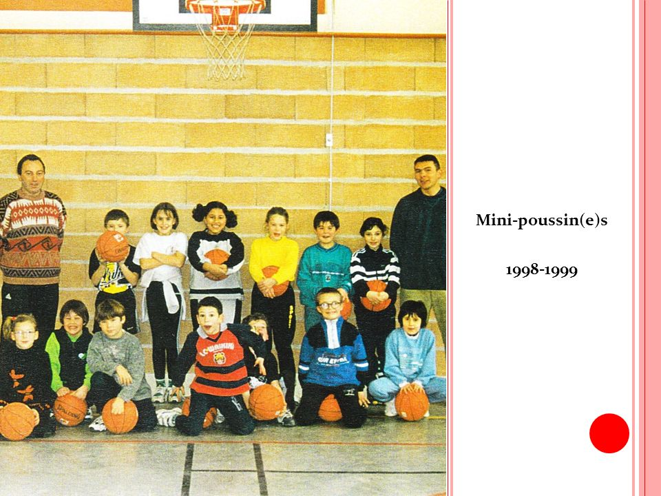 Mini-poussin(e)s 1998-1999