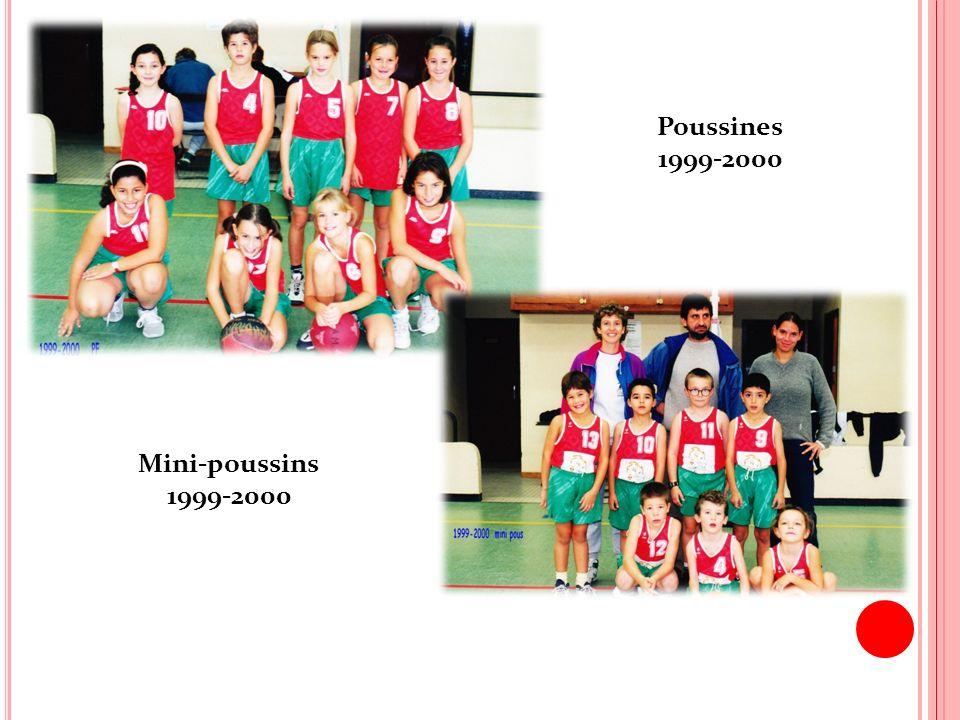 Poussines 1999-2000 Mini-poussins 1999-2000