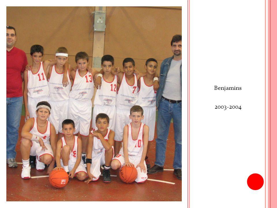 Benjamins 2003-2004